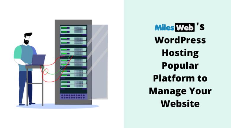 MilesWeb's WordPress Hosting